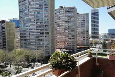 Просторная квартира в Барселоне возле центра города